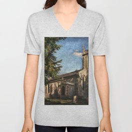 St Nicholas Church Sulham Unisex V-Neck