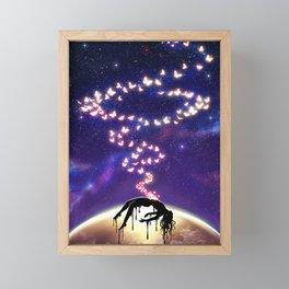 Butterfly Sin ver.2 Framed Mini Art Print