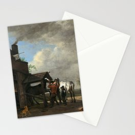 Paulus Potter A Farrier's Shop Stationery Cards