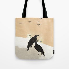 Crows from Koson Tote Bag
