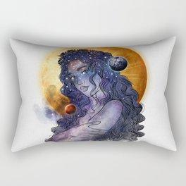 The queen of universe. Rectangular Pillow
