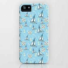 Sailing Slim Case iPhone (5, 5s)