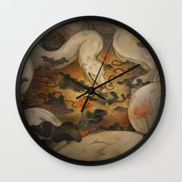 The Kings Request Wall Clock