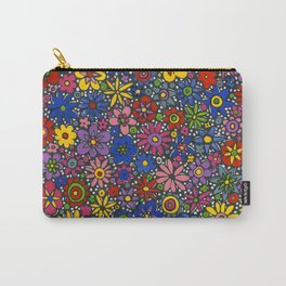 Mille Fleurs by nettie heron-middleton Carry-All Pouch