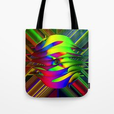 Einstein's Rainbow Tote Bag