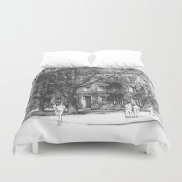 Radom in April Duvet Cover