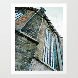 The Old Cathedral Art Print