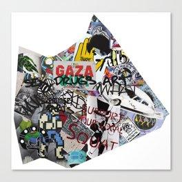Paris Graffiti: 13th Arrondissement Canvas Print