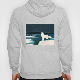 The White Wolf Is Calling Hoody