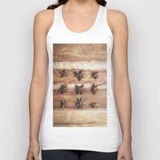 Stars and Stripes of Baking - Star Anise Unisex Tank Top