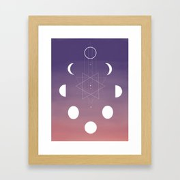 Phased Framed Art Print