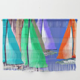 Against the Wind Wall Hanging
