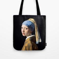 Girl with a Pearl Earring - Jonah Vermeer Tote Bag