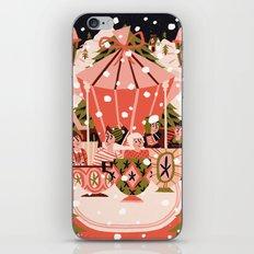 Christmas Coffee Carousel iPhone & iPod Skin