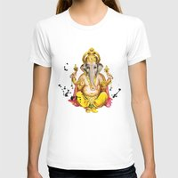 ganesha T-shirts featuring Ganesha by O. Be