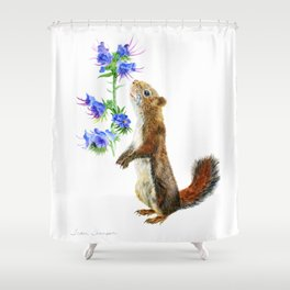 Take Time To Smell The Flowers by Teresa Thompson Shower Curtain