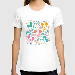 """""""Botanical Mickey Mouse"""" by Sun Lee T-shirt"""