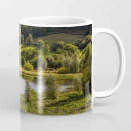 Private Fishing on Doly mynach Coffee Mug