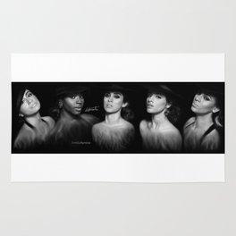 Fifth Harmony 'Reflection' Digital Painting Rug