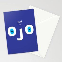 Evil eye minimalist print Stationery Cards