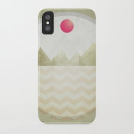 Pinked Sands iPhone Case