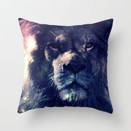 Leo Lion : Deep Pastels Throw Pillow