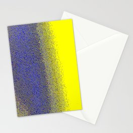 Color Blue color yellow Stationery Cards