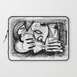 Drinker - b&w Laptop Sleeve