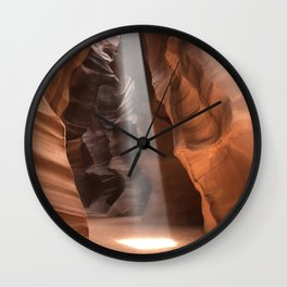Antelope Canyon Spotlight Wall Clock