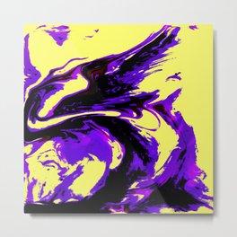 Fluid Abstract 25 Metal Print