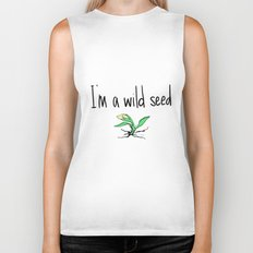 wild seed  Biker Tank