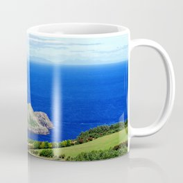 Landscape of Antrim coast. Northern Ireland Coffee Mug