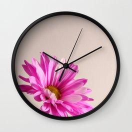 Flower 4 Lisa Wall Clock
