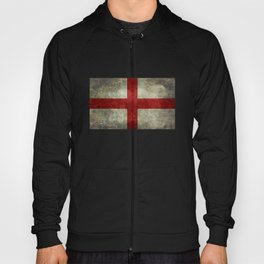 Flag of England (St. George's Cross) Vintage retro style Hoody