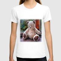 teddy bear T-shirts featuring Teddy Bear  by Fran Walding