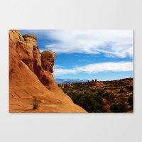 utah Canvas Prints featuring Utah! by Claudio Del Luongo