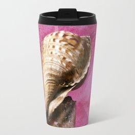SEASHELL - STILLIFE - PINK WALL Travel Mug
