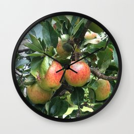 Juan's tree Wall Clock