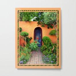Garden Delights, Mesilla, NM Metal Print