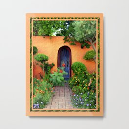 Garden Delights, Mesilla, NM Metal Print