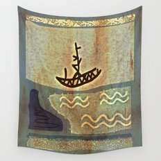 Boat Wall Tapestry
