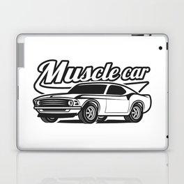 Muscle retro car Laptop & iPad Skin