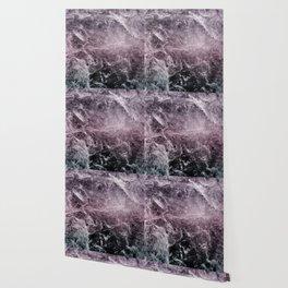 Enigmatic Dark Night Marble #1 #decor #art #society6 Wallpaper