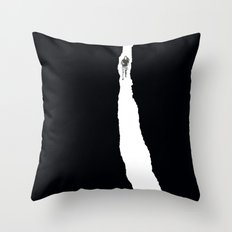 Paper Trail Throw Pillow