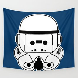 Cassette Trooper Wall Tapestry