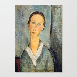 "Amedeo Modigliani ""Girl in a Sailor's Blouse"" Canvas Print"