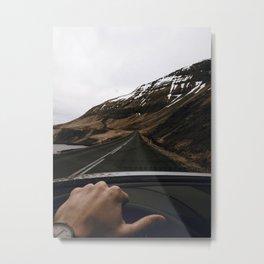 Road Trip VI / Iceland Metal Print