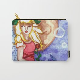 Under the Moon Fay Carry-All Pouch