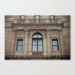 Mansion Windows Canvas Print