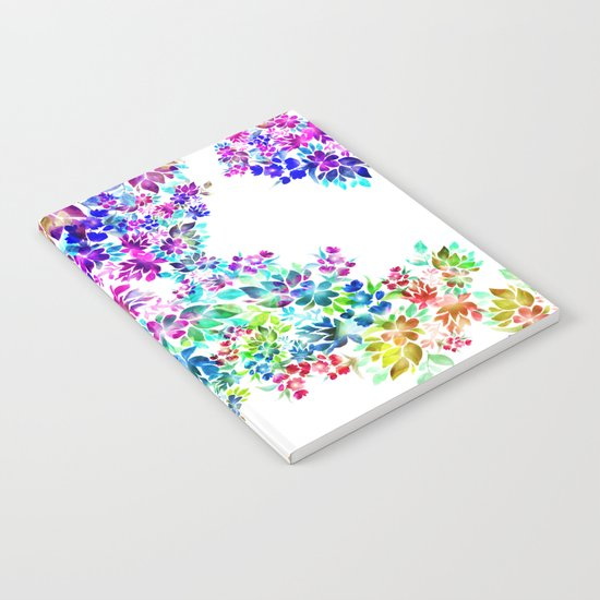 Watercolor Lei Notebook